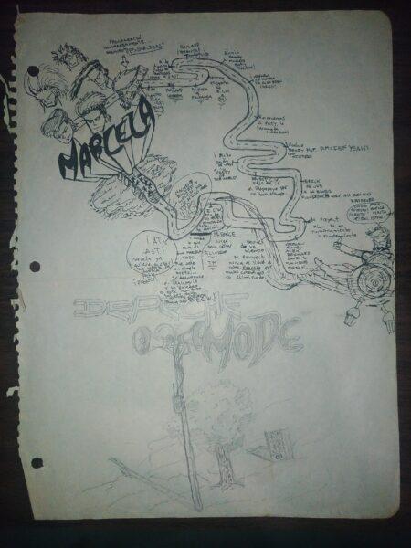 Roadmap original de conocer a Marcela 1992